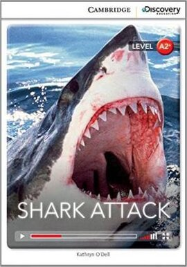 CDIR Level A2+. Shark Attack (Book with Online Access) - фото книги