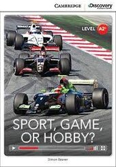 CDIR Level A2+. Sport, Game or Hobby? (Book with Online Access) - фото обкладинки книги