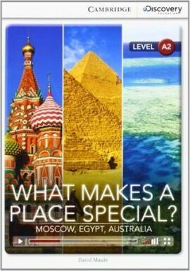 CDIR Level A2. What Makes a Place Special? (Book with Online Access) - фото книги