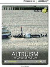 CDIR Level B1+. Altruism: What's in it for Me? (Book with Online Access) - фото обкладинки книги