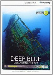 CDIR Level B1+. Deep Blue: Discovering the Sea (Book with Online Access) - фото обкладинки книги