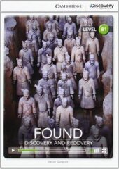 CDIR Level B1. Found: Discovery and Recovery (Book with Online Access) - фото обкладинки книги