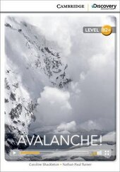 CDIR Level B2+. Avalanche! (Book with Online Access) - фото обкладинки книги