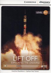 CDIR Level B2+. Lift Off: Exploring the Universe (Book with Online Access) - фото обкладинки книги