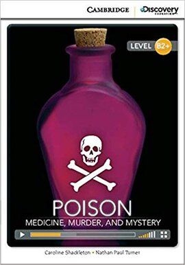 CDIR Level B2+. Poison: Medicine, Murder and Mystery (Book with Online Access) - фото книги