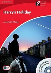 CDR 1. Harry's Holiday (with CD-ROM/Audio CD) - фото обкладинки книги