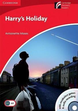 CDR 1. Harry's Holiday (with CD-ROM/Audio CD) - фото книги