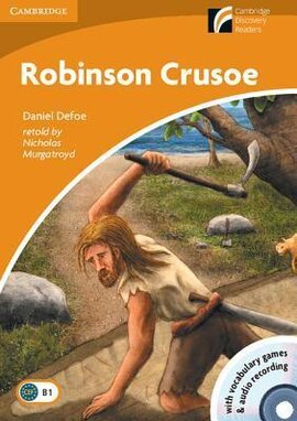 CDR 4. Robinson Crusoe (with CD-ROM and Audio CDs) - фото книги