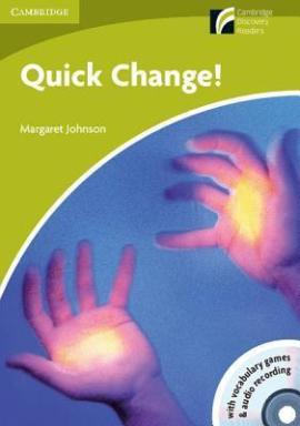 CDR Starter. Quick Change! (with CD-ROM/Audio CD) - фото книги
