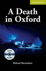 CER Starter. A Death in Oxford (with Audio CD Pack) - фото обкладинки книги
