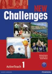 Challenges NEW 1 Active Teach (інтерактивний курс) - фото обкладинки книги