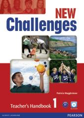 Challenges NEW 1 Teacher's Handbook + Multi-ROM (книга вчителя) - фото обкладинки книги
