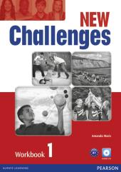 Робочий зошит Challenges NEW 1 Workbook+CD-Rom