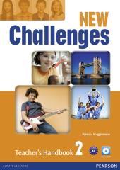 Challenges NEW 2 Teacher's Handbook + Multi-ROM (книга вчителя) - фото обкладинки книги
