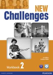 Challenges NEW 2 Workbook+CD-Rom (робочий зошит) - фото обкладинки книги