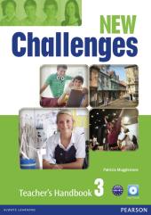 Challenges NEW 3 Teacher's Handbook + Multi-ROM (книга вчителя) - фото обкладинки книги