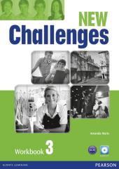 Challenges NEW 3 Workbook+CD-Rom - фото обкладинки книги