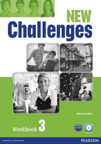 Робочий зошит Challenges NEW 3 Workbook+CD-Rom