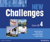 Challenges NEW 4 Class CDs (аудіодиск) - фото обкладинки книги