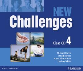 Challenges NEW 4 Class CDs (аудіодиск) - фото книги