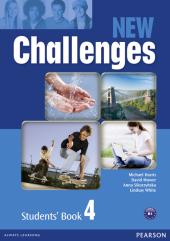 Challenges NEW 4 Student's Book (підручник) - фото обкладинки книги