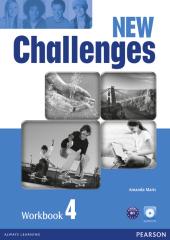 Посібник Challenges NEW 4 Workbook+CD-Rom