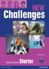 Challenges NEW Starter  Active Teach (інтерактивний курс) - фото обкладинки книги