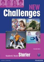 Challenges NEW Starter Student's Book (підручник) - фото обкладинки книги