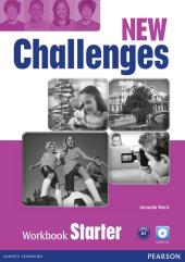 Challenges NEW Starter Workbook+CD-Rom - фото обкладинки книги
