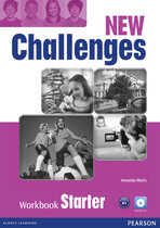 Посібник Challenges NEW Starter Workbook+CD-Rom