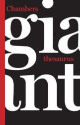 Chambers Giant Thesaurus - фото обкладинки книги