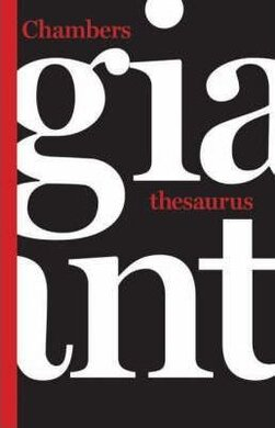 Chambers Giant Thesaurus - фото книги
