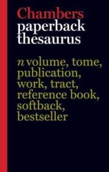 Chambers Paperback Thesaurus, 3rd edition - фото обкладинки книги