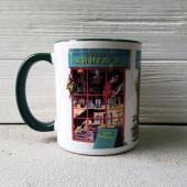 Чашка «Сповідь книгаря: Здурів, чи що?» - фото обкладинки книги