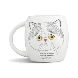 Чашка «Сумний котик» - фото книги