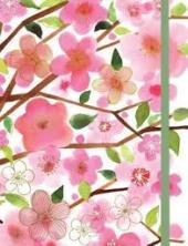 Cherry Blossoms Gilded Journal - фото обкладинки книги