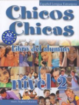 Chicos-Chicas : Libro del alumno 2 - фото книги
