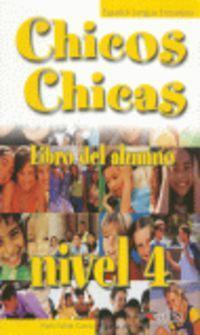 Chicos-Chicas : Libro del alumno 4 - фото книги