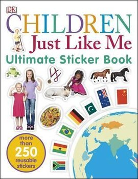 Children Just Like Me. Ultimate Sticker Book - фото книги