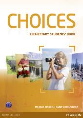 Choices Elementary Student's Book with MyEnglishLab (підручник) - фото обкладинки книги