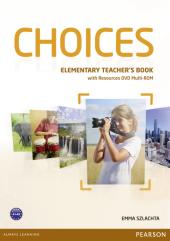 Choices Elementary Teacher's Book with DVD Multi-Rom (книга вчителя) - фото обкладинки книги