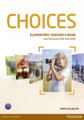 Choices Elementary Teacher's Book with DVD Multi-Rom (книга вчителя) - фото книги