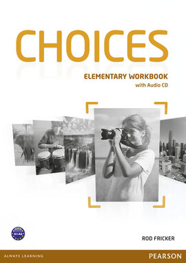 Choices Elementary Workbook with Audio CD - фото книги