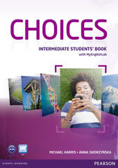 Choices Intermediate Student's Book  with MyEnglishLab (підручник) - фото обкладинки книги