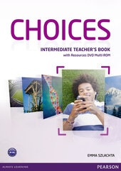 Choices Intermediate Teacher's Book with DVD Multi-Rom (книга вчителя) - фото обкладинки книги