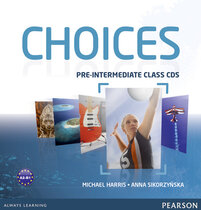 Посібник Choices Pre-Intermediate Class MP3 CD adv (аудіодиск)