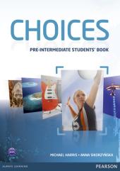 Choices Pre-Intermediate Student's Book (підручник) - фото обкладинки книги