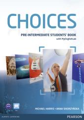 Choices Pre-Intermediate Student's Book with MyEnglishLab (підручник) - фото обкладинки книги