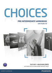 Choices Pre-Intermediate Workbook with Audio CD (робочий зошит) - фото обкладинки книги