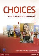 Choices Upper Intermediate Student's Book with MyEnglishLab (підручник) - фото обкладинки книги